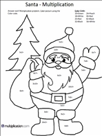multiplication easy coloring pages - photo#15
