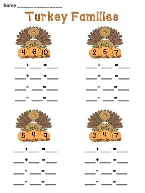 math worksheet : 7 thanksgiving math lessons and ideas : Thanksgiving Themed Math Worksheets