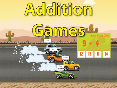 Addition Math Games