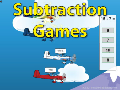 Subtraction Math Games