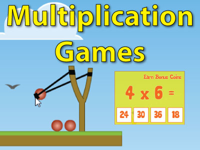 Build speed and accuracy with our multiplication games