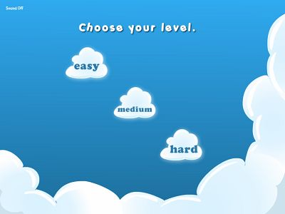 Pick a Difficulty Level in Flying High II Subtraction | Multiplication.com