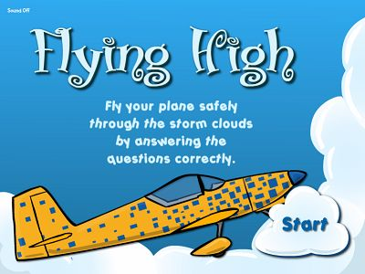 Welcome to Flying High II Subtraction | Multiplication.com