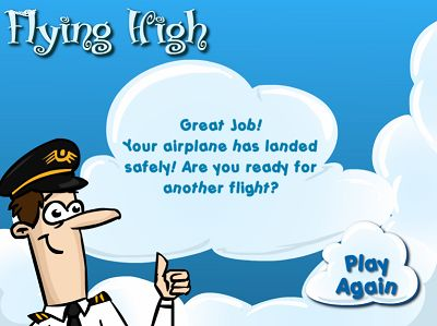 You Won Flying High II Subtraction | Multiplication.com