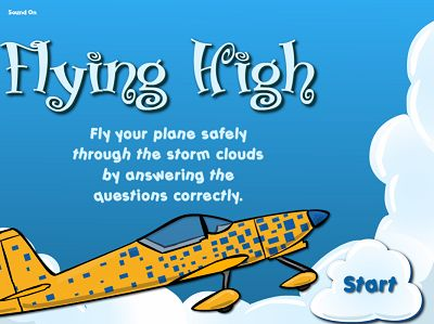 Welcome to Flying High Addition | Multiplication.com