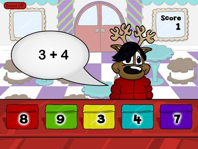 Sell Cookie Tins in Reindeer Cafe Addition | Multiplication.com