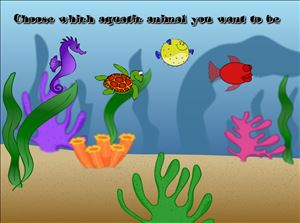 Choose a Sea Creature in Aquatic Speedway Multiplication | Multiplication.com