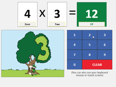 Multiplication Memory Check Quiz