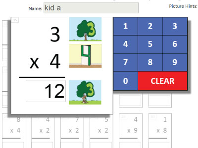 Teach the Multiplication Facts with Picture and Stories