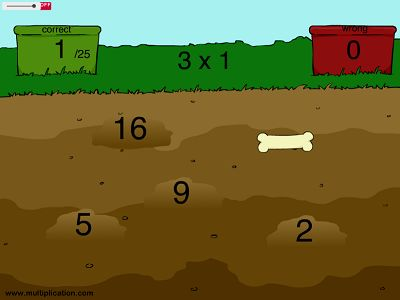 Dig up Bones in Can You Dig It? | Multiplication.com