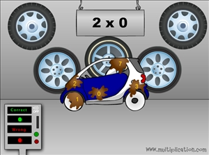 Solve the Facts to Clean the Cars in Car Wash Multiplication | Multiplication.com