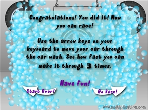 clean all of the cars in car wash multiplication multiplicationcom