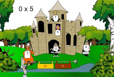 Level Two of Castle Quests | Multiplication.com