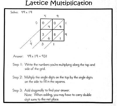 tikz pgf - Creating a lattice multiplication image on LaTeX - TeX ...