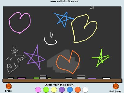 Draw as Much as you Want in Classroom Capers | Multiplication.com