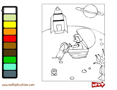 Solve the Facts to Unlock the Colors in Color Creations | Multiplication.com