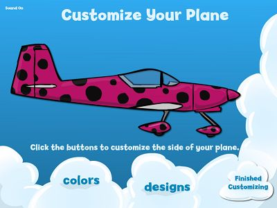 Customize Your Plane Your Way in Flying High Division | Multiplication.com