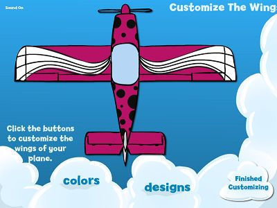 Customize Your Wings in Flying High Division | Multiplication.com