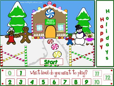 Welcome to Holiday Fun Division | Multiplication.com