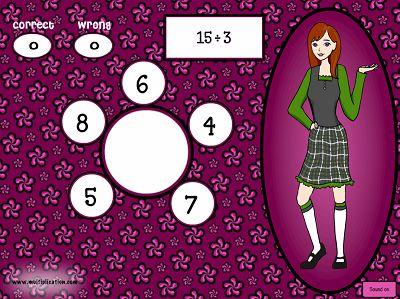Solve Division Problems in Math Models Division | Multiplication.com