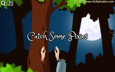 Pixies Live in the Enchanted Forest in Pixie Catcher Division | Multiplication.com