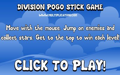 Welcome to Division Pogo | Multiplication.com