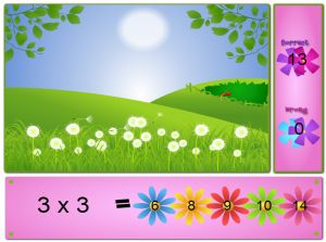 Solve the Facts in Fairy Fun Land | Multiplication.com