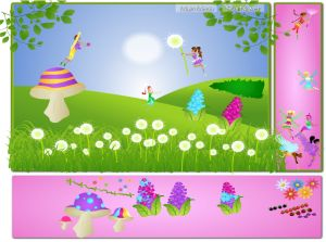 Create Your own Fairy Scene in Fairy Fun Land | Multiplication.com