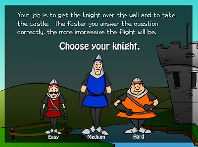 Choose a Level for The Flight of the Knight | Multiplication.com