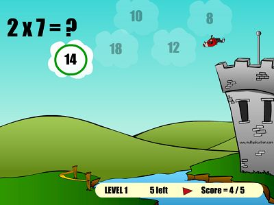 Get the Answer Right to Get to the Top in The Flight of the Knight | Multiplication.com