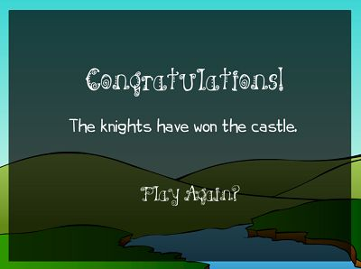 You Won The Flight of the Knight | Multiplication.com
