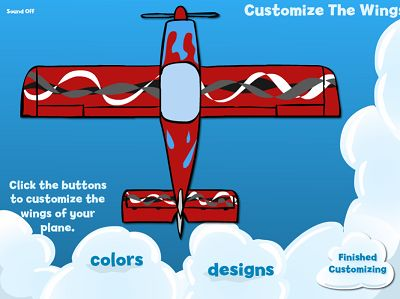 Customize Your Wings in Flying High Multiplication | Multiplication.com