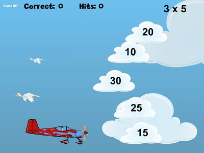 Fly Your Way to the Answer in Flying High Multiplication | Multiplication.com