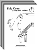 Free Skip Counting Multiplication Worksheets