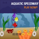 Games that teach speed - Aquatic Speedway