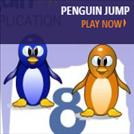 Games that teach speed - Penguin Jump
