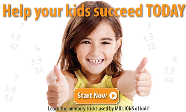 Help your kids succeed at learning the multiplication facts today. | Multiplication.com