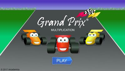 Grand prix free multi player game - Times table racing car game ...