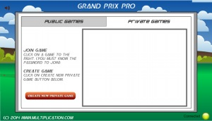 Grand Prix Pro Private Game
