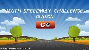 Welcome to Math Speedway Challenge Divsion | Multiplication.com