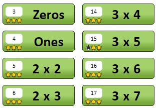 Green Correct Lessons | Multiplication.com