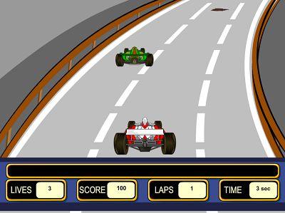Speed Along the Track in Hypervelocity Racer II | Multiplication.com