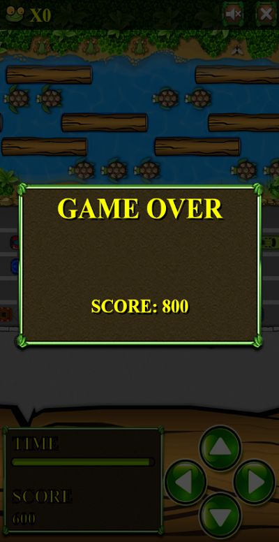 Game Over in Jumper Frog | Multiplication.com