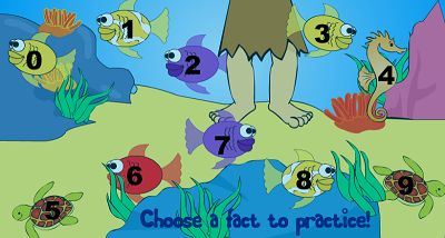 Choose a Fact Family for Jungle Jim Goes Fishing | Multiplication.com