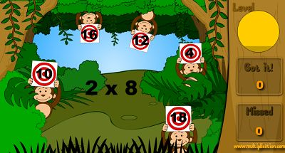 Solve the Problems in Jungle Jim and the Monkeys | Multiplication.com