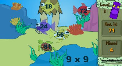 Catch Some Fish in Jungle Jim | Multiplication.com
