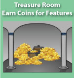 Treasure Room Coins - Multiplication.com