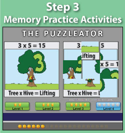 Memory Practice Activities | Multiplication.com