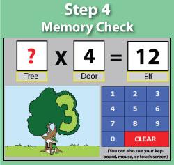 Memory Check - Multiplication.com