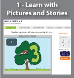 Learn with Picture and Story - Multiplication.com